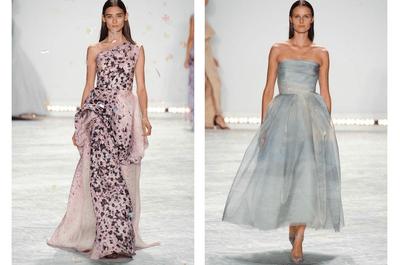 Invitadas de boda en tendencia de pies a cabeza: Increíbles vestidos de fiesta 2015 de Monique Lhuillier