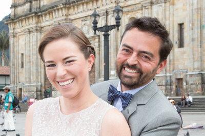 Carolina y Eduardo: ¡Un matrimonio organizado en sólo dos meses!