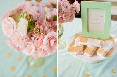 #MartesDeBodas: Una boda irresistible en color menta