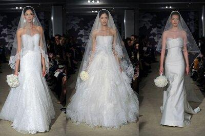 Velos 2015: novias delicadas y estilos clásicos para tu boda