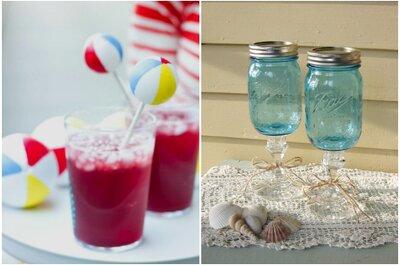Já pensou em decorar os copos e taças do seu casamento com um toque divertido e original?