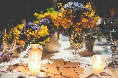 Cuidado e delicadeza na decoração do seu casamento