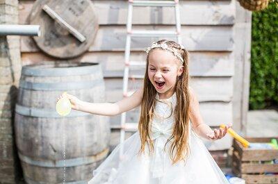 Hoe zorg je ervoor dat jullie bruiloft kidsproof is?