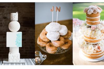 12 pasteles de boda que romperán esquemas en 2015: Tendencias que jamás imaginaste que serían realidad