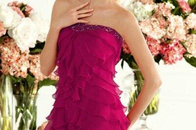 Robes pour invitées de couleur fluo