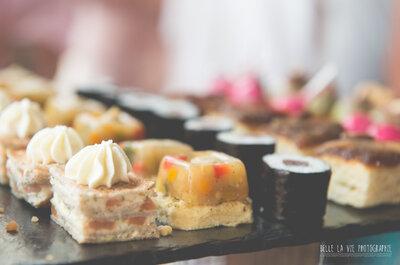 La gastronomie s'invite à votre mariage en 2016 pour faire saliver vos papilles!