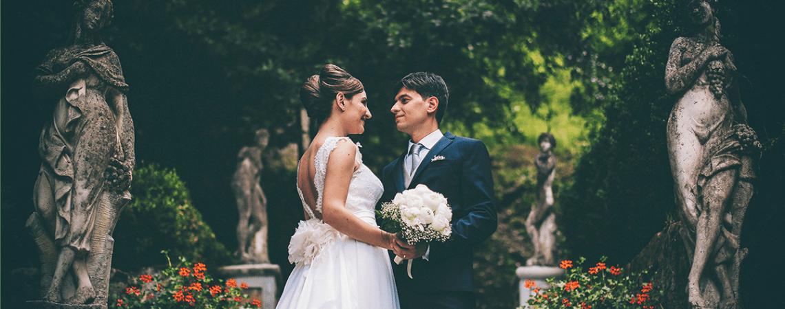 """""""Ci incontriamo nella mente e nessuno ci sente"""": le nozze di Riccardo e Teresa"""