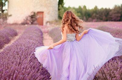 Decoração de casamento com lavanda em estilo provençal: um charme!