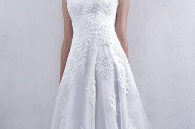 vestidos de noiva com corte império 2017: um clássico perfeito para todas!