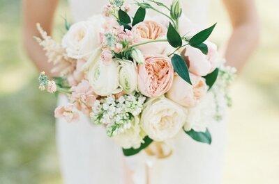 Lo 50 ramos de novia con rosas más lindos de la temporada: Clase, elegancia y distinción ¡en preciosas flores!