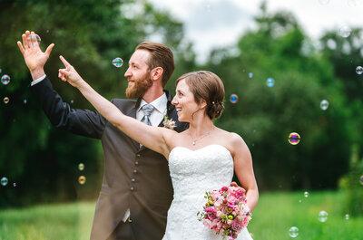Die sommerliche Hochzeit von Julia & Reto im Wasserschloss Wyher