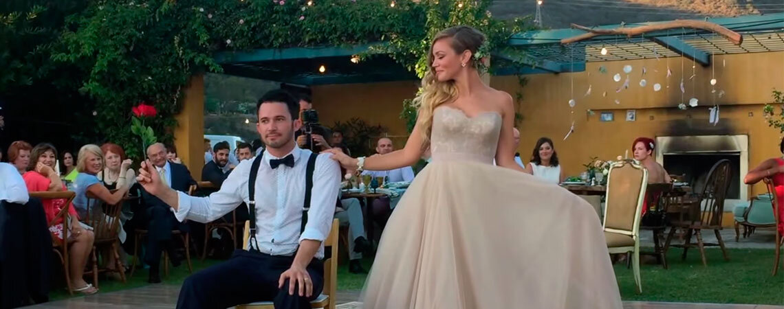 The most magical wedding dance in history, don't get caught in their Spell of love!