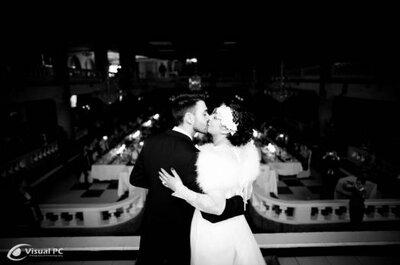 Hochzeit im Stil der Goldenen Zwanziger Jahre