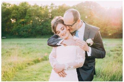 Landelijk trouwen in het bos: Jenorie en Lucas!