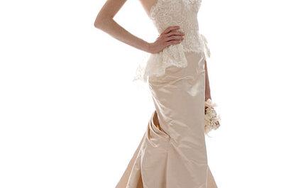 Elizabeth Fillmore Fall 2012 Bridal Collection of Frilly & Feminine Wedding Dresses