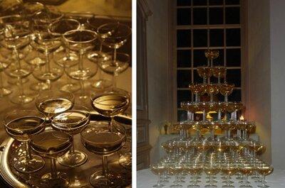Champagne op je bruiloft: een feestelijke bubbel!