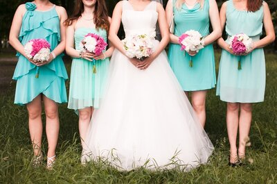 Here come the girls! It's time to meet the bridesmaids!