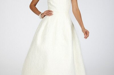 5 schlichte Brautkleider für Ihre Sommerhochzeit 2014