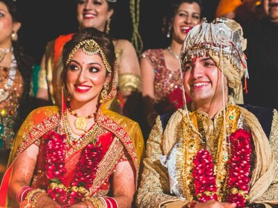 The amazing Real Wedding of Vriti and Kapil: The one that was destined to be