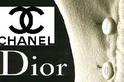 Chanel and Dior wedding shoes