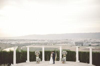 Una boda única en la ciudad de las tres culturas: el gran día de Rocío y José