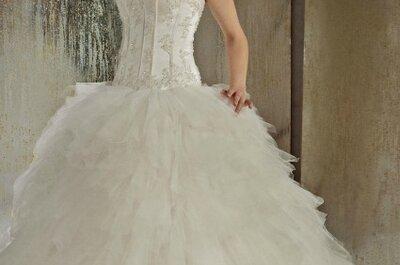 Christine Couture 2013 : des robes de mariée de princesse raffinées et glamours