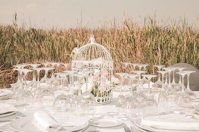 Decoração de casamento com gaiolas: diferentes opções