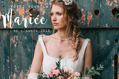 Concours de la mariée de l'année 2016 : découvrez qui est la gagnante !