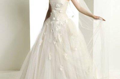 Vestidos de noiva com decote cai-cai: os nossos preferidos para 2013