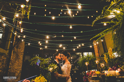 Real Wedding: Katherine & Gabriel´s Brazilian/Greek Big Day - Rustic, Vintage and Colorful!
