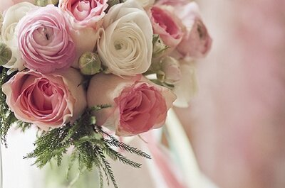 La inspiración en ramos de novia - Pinga amor de Anna Jordão
