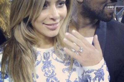 Detalles del compromiso de Kim Kardashian con Kanye West