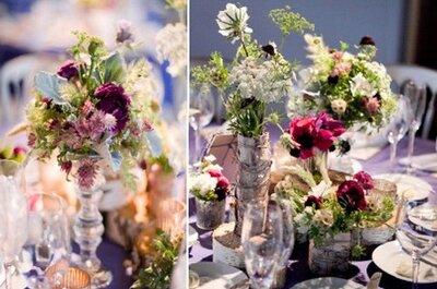 #MartesDeBodas: Ideas para centros de mesa DIY para tu boda