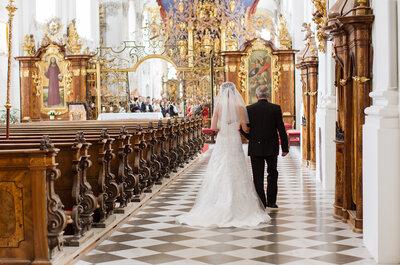 Kirchliche Trauung: 6 Tipps, wie Sie die Zeremonie planen!
