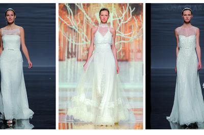 Brautkleider für 2014 – Die internationalen Trends frisch vom Laufsteg