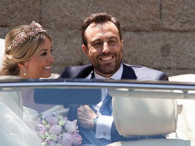 La celebración más bonita en el Monasterio del Escorial: la boda de Lola y Pedro