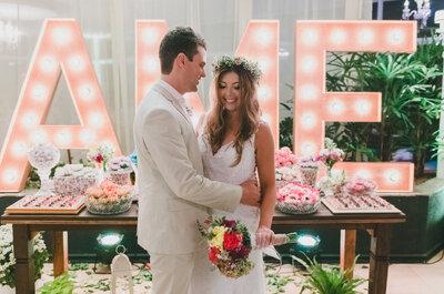 Carina & Daniel: casamento ao ar livre com toques vintage maravilhosos!