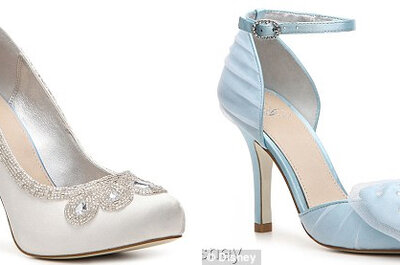 Zapatos de novia inspirados en Cenicienta