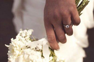Ramos de novia blancos para novias tradicionales