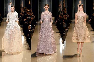 Las tendencias que nos deja el 2013 en vestidos de novias y accesorios