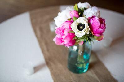 Decoración de boda en color rosa mexicano: Intensidad, brillo y creatividad en el día más importante