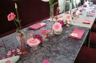 Se marier dans un restaurant oui, mais on mise sur la décoration !