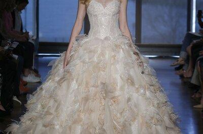 Alta costura en el altar: Vestidos de novia primavera 2015 de Ines Di Santo