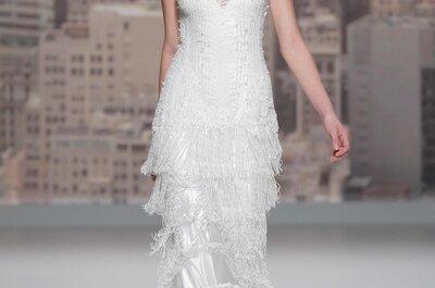 4 Brautfrisuren 2015: Diese Hairstyles sah man auf der Barcelona Bridal Week