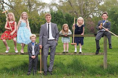 Sugerencias para entretener a los niños en las bodas