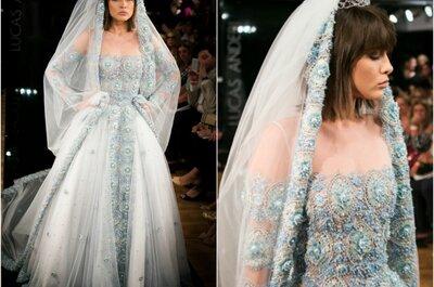 Feminilidade e sofisticação: vestidos de noiva de Lucas Anderi no Casamoda Noivas 2014