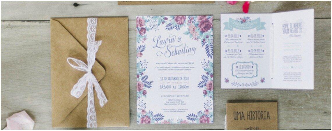 Como escrever o convite de casamento? Passo a passo em 10 itens!