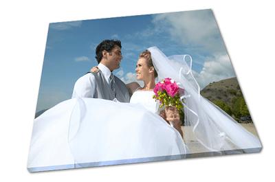 Ihr Hochzeitsfoto auf Leinwand - exklusiv von HalloLeinwand