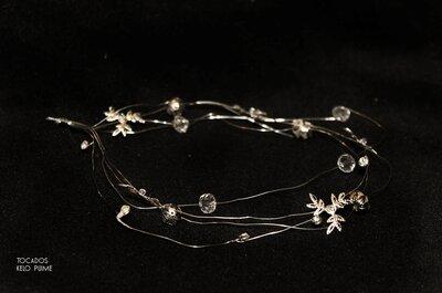 Nueva colección de bijouterie para novias Kelo Puime