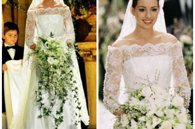 Inspire yourself with Hollywood's most spectacular wedding dresses